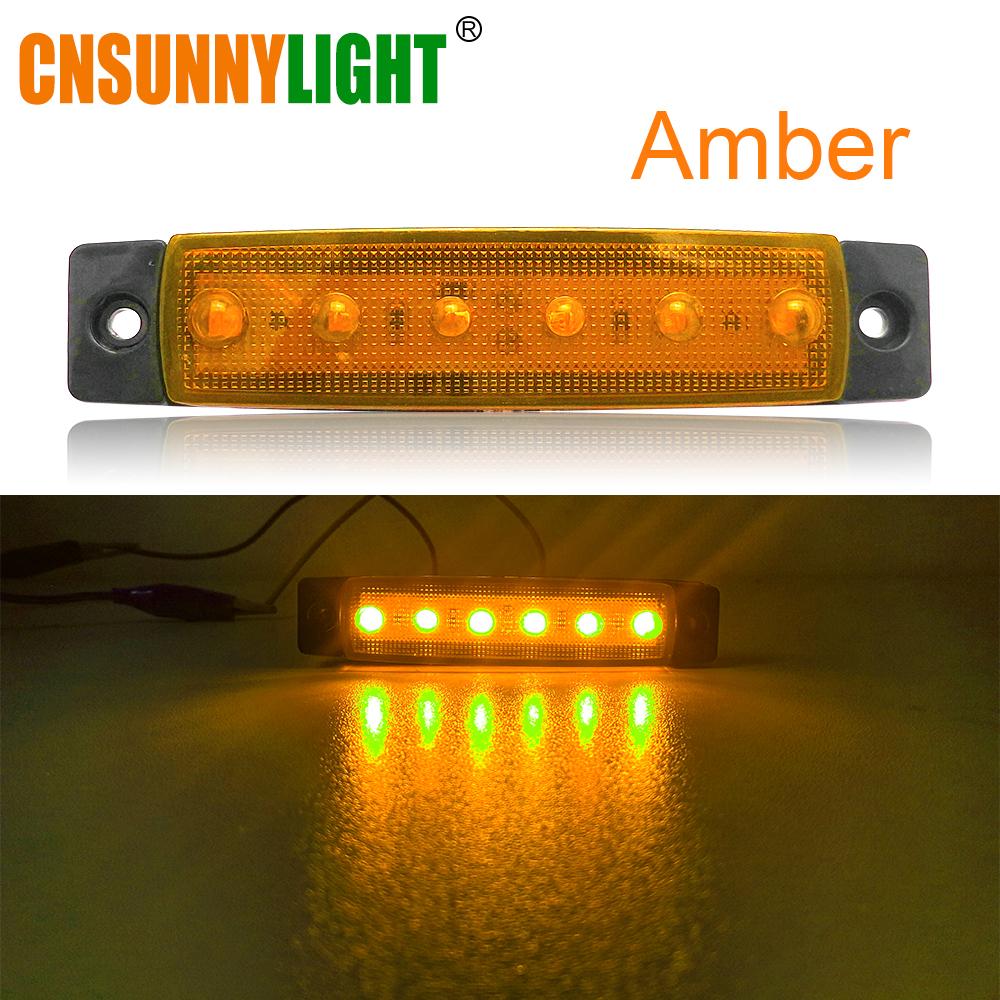CNSUNNYLIGHT Car LED Bus Clearance Lamp Tail Reverse Light Turn Signal Truck Trailer Lorry UTE Caravan Rear Warning Lighting Bar (1)