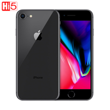 Unlocked Apple Iphone 8 plus original 64G ROM 12.0 MP Fingerprint 2GB RAM iOS LTE smartphone mobile phone 1080P  4.7 inch screen