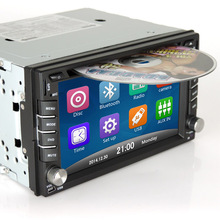 Car dvd gps player for nissan vw toyota with 2 din car radio bluetooth sd usb gps navigation Rear view camera size 178 x 102mm