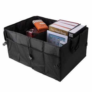 Folding Car Back-Up Storage Box Trunk Bag Container Vehicles Toolbox Multifunctional Organizer Styling Auto Accessories image
