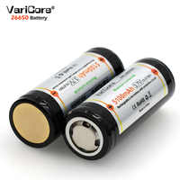 VariCore 26650 3.7V Lithium Battery 26650 4A High current discharge Protective Board Battery for Highlight Flashlight