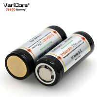 VariCore 26650 3.7V Batteria Al Litio 26650 4A di Alta corrente di scarica Consiglio di Protezione Della Batteria per Evidenziare Torcia Elettrica