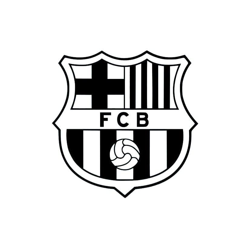 Poster For Barcelona FC Football Messi Neymar Fcb Soccer Sport Suarez Art Painting Car Stickers Vinyl Decor Decals