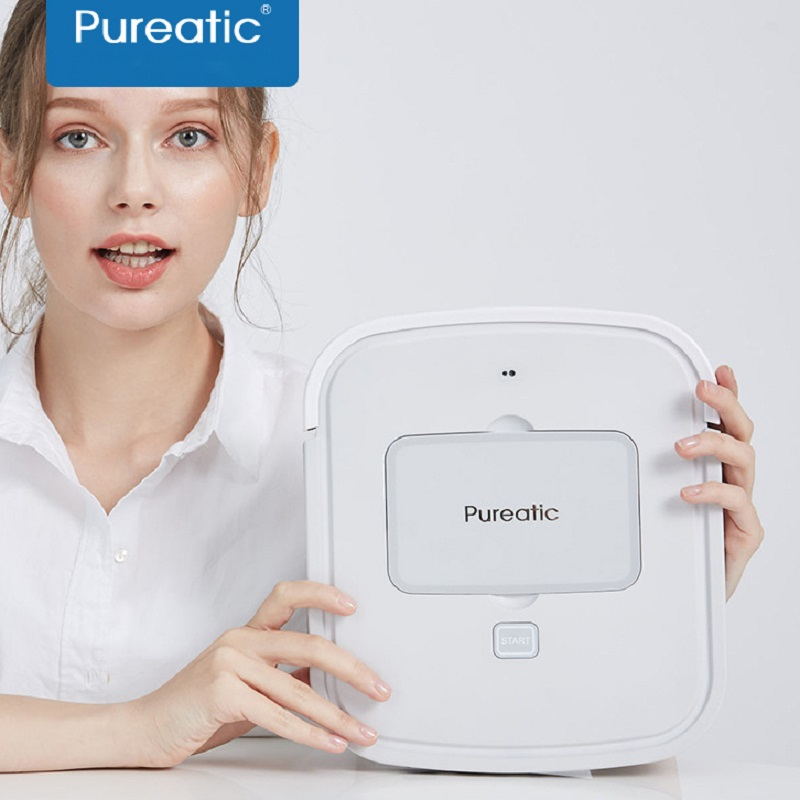 2018 Pureatic Intelligent Sweep Floor Robot Home Fully Automatic Ultra Thin Vacuum Cleaner Wipe Ground Mopping Machine Aspirador цена и фото