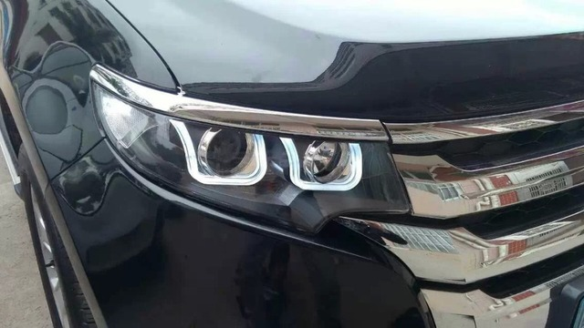 For   Ford Edge Hid Headlights With Bi Xenon Projector And Led Drl