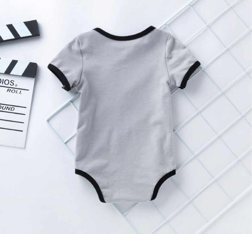 Newborn Baby Boy Clothes Ropa Bebe Cotton Short Sleeve Girl Jumpsuits Superman Batman Cute Children Bodysuit Kids Costume Gifts