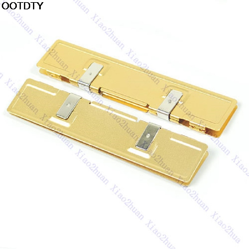 Gold DDR DDR2 RAM NEW Memory Cooler Heat Spreader Heatsink #L059# new hot gdstime 2pcs high quality ddr ddr2 ddr3 ram memory heatsink aluminum cooler heat spreader heat sink golden