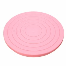 14 Inches Cake Rotating Plate Plastic Turntable Baking Tool Decorating Revolving Plates Supplies Mayitr