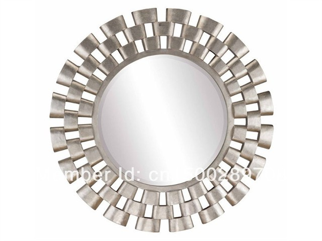 Hot vente d coration miroir mur miroir salon miroir design for Miroir design pour salon