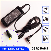 For Acer Aspire One AO721 753 752 521 150 19V 1 58A Laptop Ac Adapter Charger