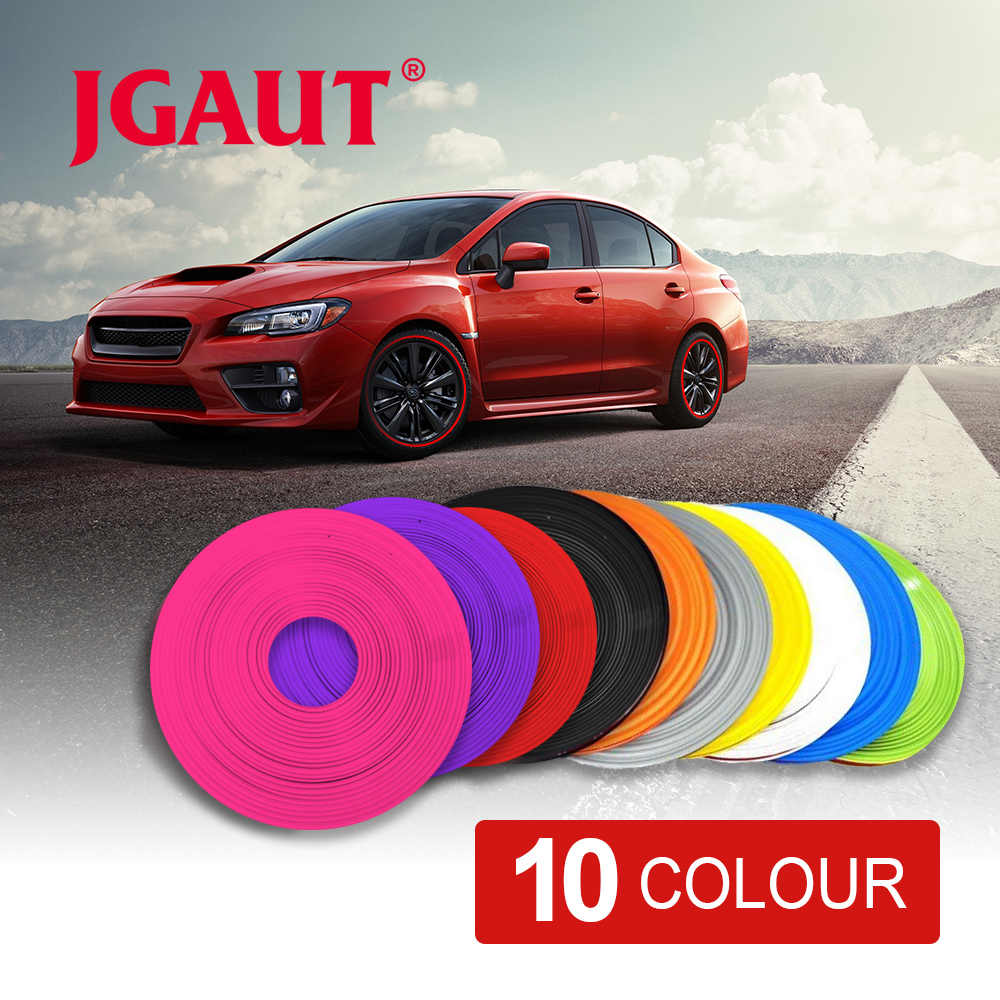 10 Color 8M/ Roll 2017 New Styling IPA Rimblades Car Vehicle Color Wheel Rims Protector Tire Guard Line Rubber Moulding Trim