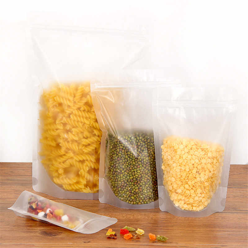 Plastic Bags Self sealing PE food sealed bag, thickened plastic bag, coarse grain tea, food preservation bag