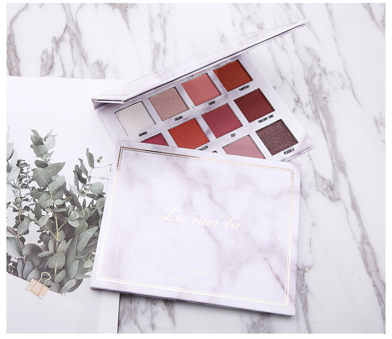 4 Color Eyeshadow Matte Makeup Palette Pigmented Color Payoff Shimmer Charming Eye Shadow Waterproof Long Lasting