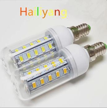 More Longer Lifespan LED Bulbs light E14 24 36 48 56 69 72 81 89 LEDs Corn lamp 220V With SMART IC Protection Power