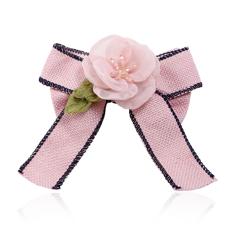 Fashion Bowknot Cheap Brooches New Design Women Fabric Brooch Decorative Safety Brooch Pin Handmade clothing Ornament Jewelry