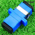 KELUSHI High quality 50pcs New SC fiber optic adapter SC flange SC / UPC adaptor fiber coupler for digital communications