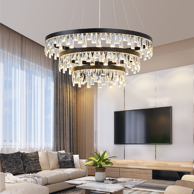 Nordic Crystal Pendant Light Dining Room led Hanging Lamp ...
