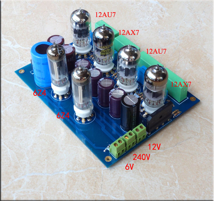 US $26 0 |ZEROZONE DIY Hifi 12AU7+12AX7 Tube Preamplifier Board / Stereo  Tube Preamp Kit L13 1-in Amplifier from Consumer Electronics on