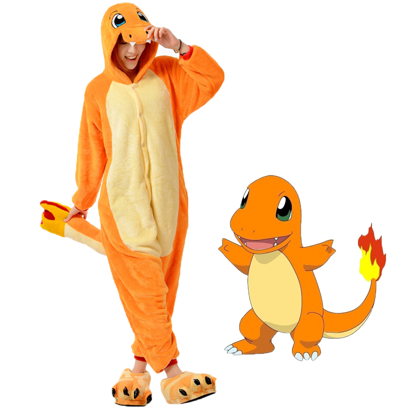 New Fiery Dragon Onesie For Adult Women Men Pajamas Costume Cosplay Christmas Halloween Dress Party Flannel Coral Fleece Outwear