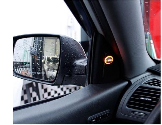 СВЧ система обнаружения слепых пятен BSD BSA BSM LCA миллиметр волна радар слепых пятен мониторинг помощник вождение автомобиля безопасности