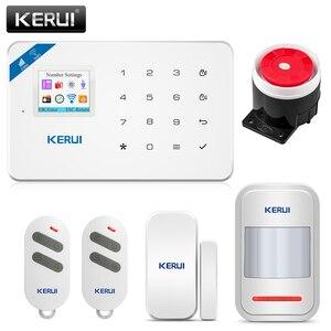 Image 1 - Corina W18 Draadloze Wifi Alarmsysteem Gsm Android Ios App Controle Home Security Alarm Systeem