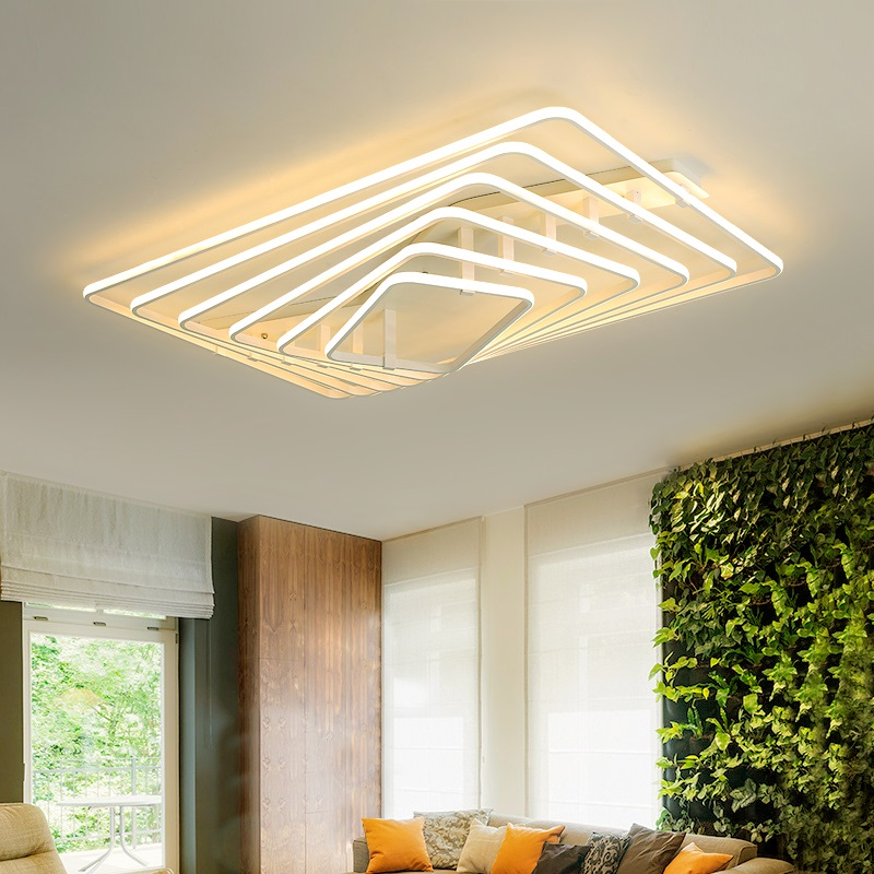 Modern LED Dimming Ceiling Lighting Novelty Bedroom Ceiling Lights Home Luminaires Nordic Fixtures Living Room Ceiling Lamps