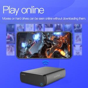 "Image 3 - Airdisk Q3X Mobil ağ sabit disk USB3.0 NAS Aile Ağı Bulut Depolama 3.5 ""Uzaktan Mobil sabit disk Kutusu (HDD)"