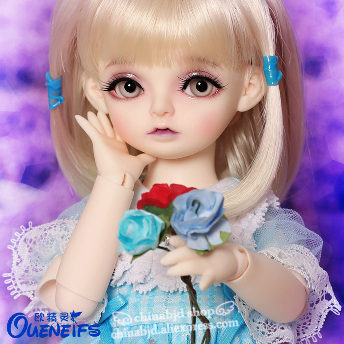 OUENEIFS free shipping Gary 1/6 bjd sd doll model reborn baby girls boys doll eyes High Quality toys shop resin lps pet shop toys rare black little cat blue eyes animal models patrulla canina action figures kids toys gift cat free shipping
