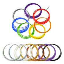 10pcs PLA 3D Print Filament 1.75mm 10M Different Colors For 3D Printer or Pen filament