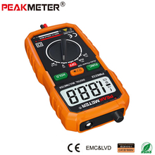 PEAKMETER New Hot Sale Non-Contact Mini Digital Multimeter DC AC Voltage Current Tester PM8232 Ammeter Multi tester