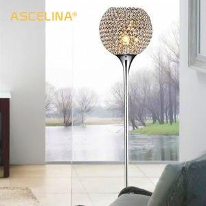 Image 1 - Floor Lamp crystal floor lamp Modern Floor Light LED E27 torso lighting 1.6m high Living room bedroom study decoration light