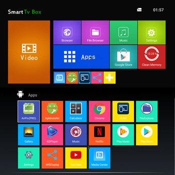 est 4GB 64GB Android 8 1 TV Box T9 RK3328 Quad Core 4G