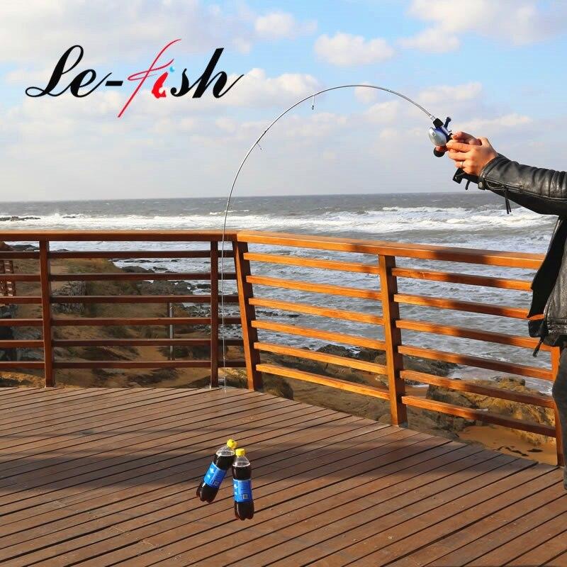 LeFish UL fishing rod 1 8m 3 7g lure weight ultralight spinning Casting rod 2 6LB