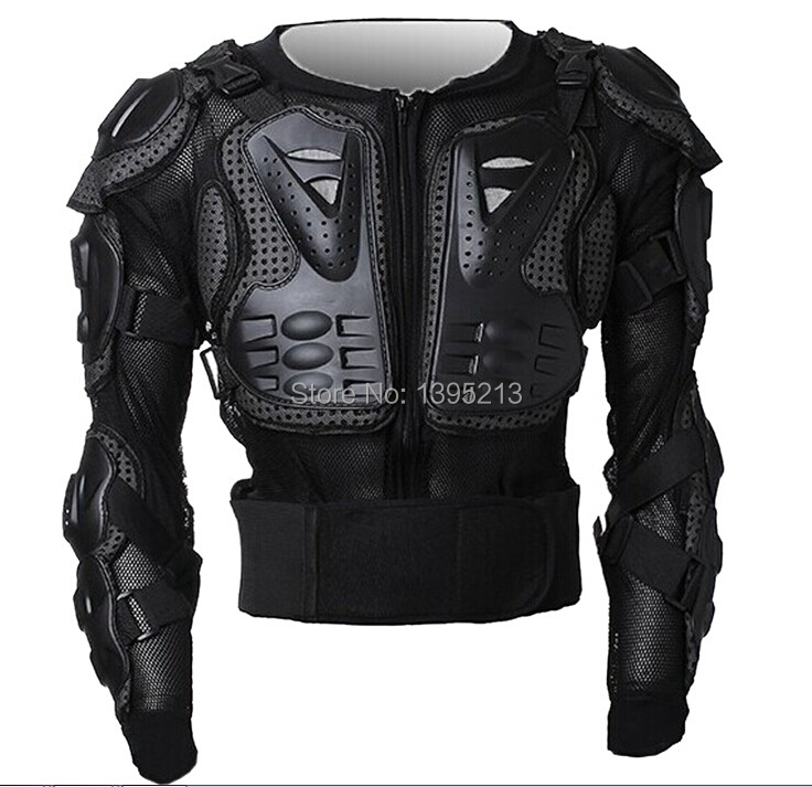 ФОТО Professional Motorcycle Jacket Body Armor Motorcycle Protective Gear Racing+Full Body Chest Protective Jacket Gear