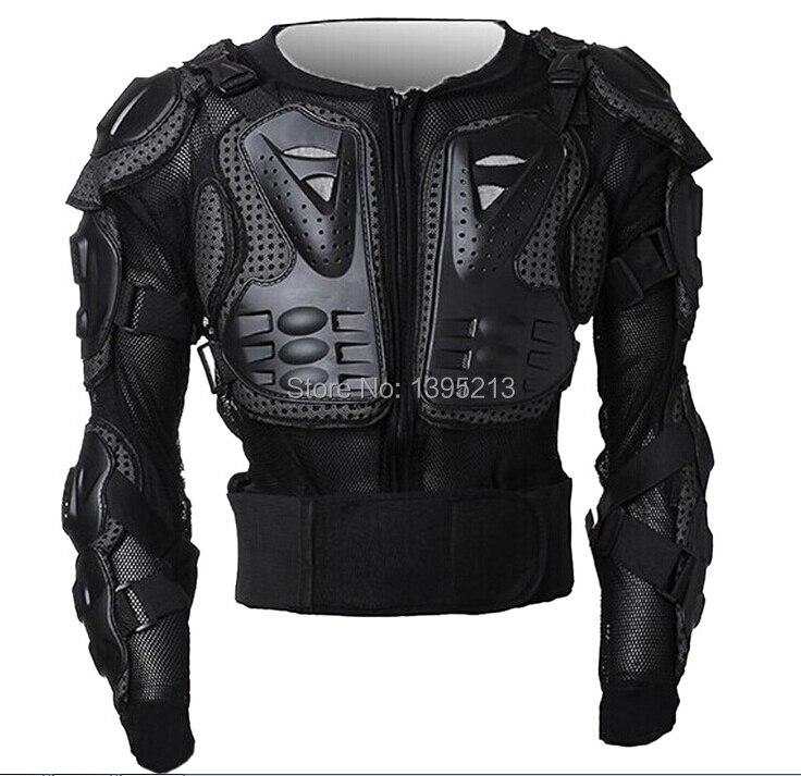 Veste de moto professionnelle armure corporelle moto équipement de protection Racing + équipement de protection de poitrine complète