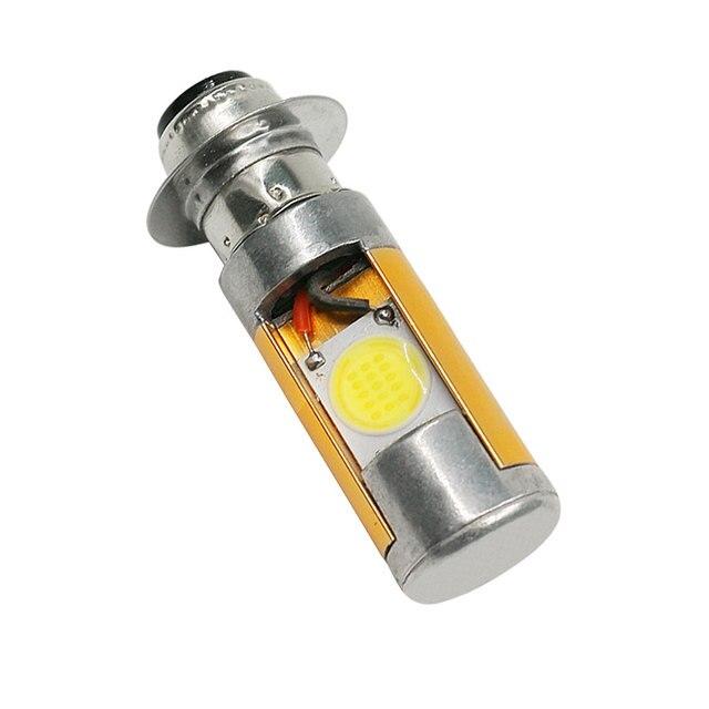 1PCS 10W 1200LM High Quality White COB LED For ATV Car light source Motor Headlight Bulb Fog Lamp H6M PX15d