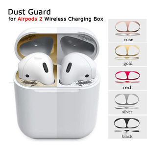 For Airpods 2 Dust Guard Metal