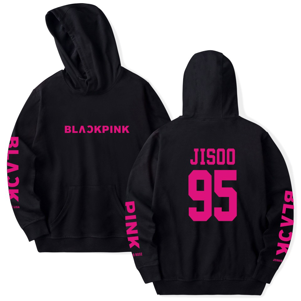 Kpop BLACKPINK hip hop Hoodie women hoody pullover Harajuku casual Sweatshirt plus size Hoodies and Sweatshirts dropshipping
