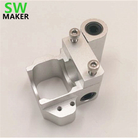 SWMAKER V6 Ultimaker Upgrade Conversion Mount Aluminum V6 Hotend Custom Mount For Ultimaker 3D Printer