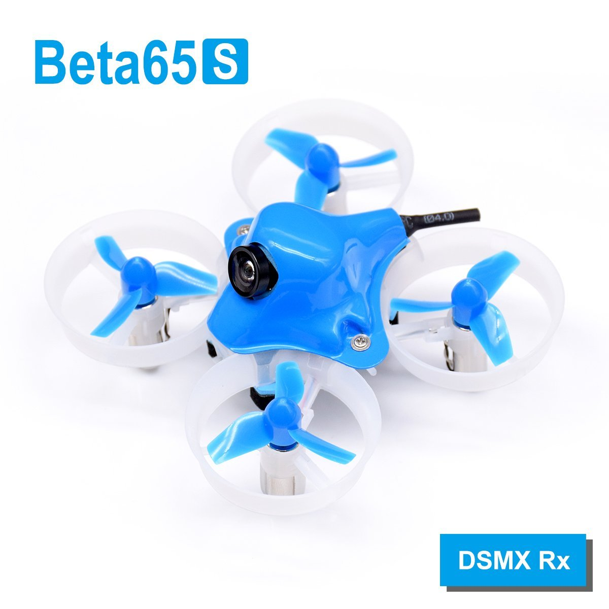 Beta65S BNF Micro Whoop Quadcopter DSMX Rx Version with 17500KV 7x16mm motors радиоуправляемый квадрокоптер betafpv beta65s whoop quad frsky rx bnf