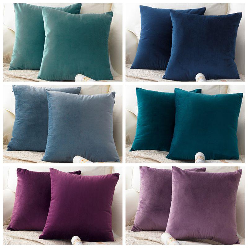 1 Pc 30x50 Nortdic Stijl Coussin De Salon Fluwelen Decoratieve Kussens Cover Taille Gooi Kussenhoes Cojines Decorativos Para Sofa