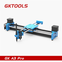GKTOOLS GK A3 Pro Metal Drawing Robot Drawing Machine 2 Axis XY Plotter Pen AXIDRAW