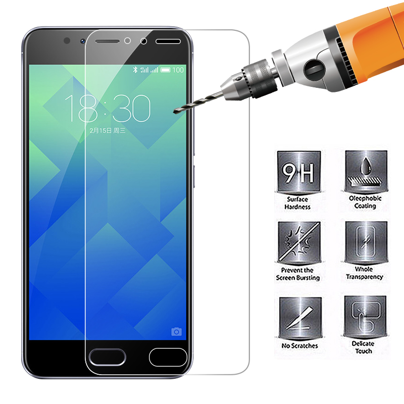 Ultra Thin Full Cover Screen Protective Glass For Meizu M6 M5 M3 Note 9 M6S M5S M5C Tempered Glass For Meizu U20 Pro 6 7 Plus
