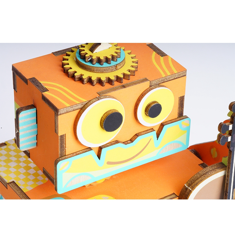 Robotime-DIY-3D-Little-Robot-Performer-Wooden-Puzzle-Game-Assembly-Moveable-Music-Box-Toy-Gift-for (3)