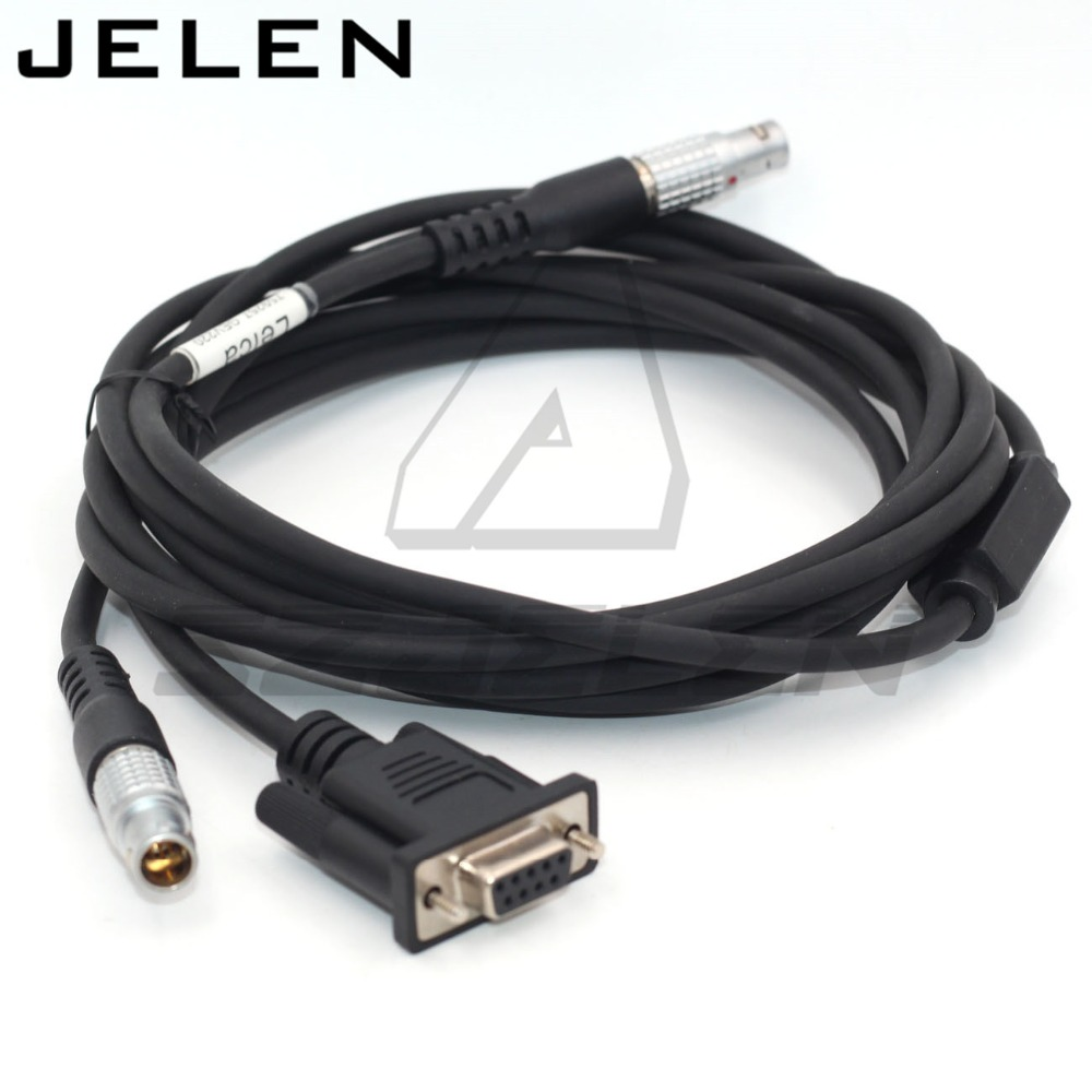 Connetor FGG 1B 5pin à 1b 7pin/rs232 prise pour Y câble TM30/TS30 station totale à PC (9 broches RS232 série) et extenal batteri