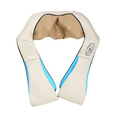 Shoulder 3d Kneading Heating Cervical Vibrating Massage Belt Device Massager Gift Home Use Electronic Vibration Care Relax electric foot massager massage machine constant heating thermal roller kneading timing care device wireless control electronic