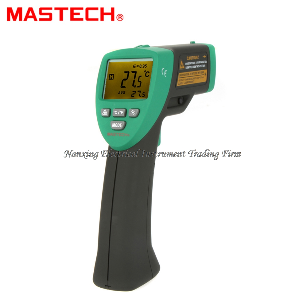 FAST ARRIVAL MASTECH MS6530 12:1 Non-contact Infrared IR Thermometer Laser Temperature Gun Meter Sensor Range -20~537 Degree new arrival non contact ir laser infrared thermometer gun tester