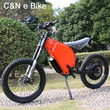 2017 New Design Long Range 72v 8000w Enuro Ebike Electric Motorcycle Mountain Bike
