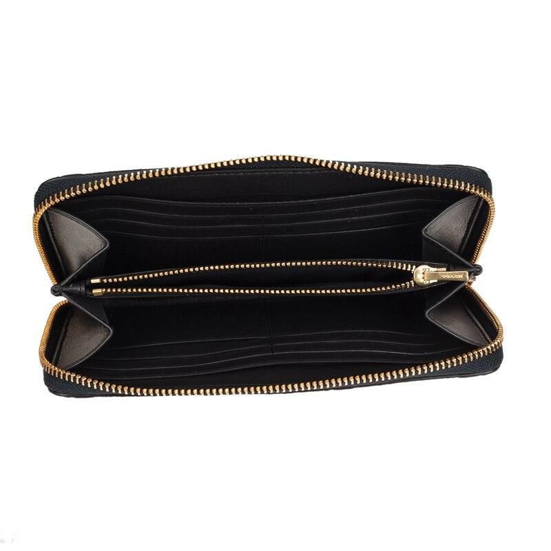 Akkordeon Zip In F27865 Bluef27865immid Coach Wallet Dark Leder Unterschrift Avwtqt5d
