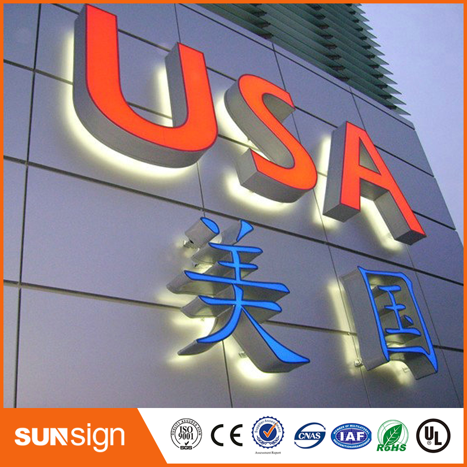 Custom Advertising Shop Sign LED 3d Letter Signs